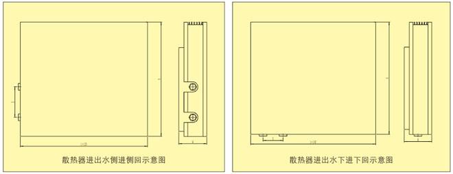 CPTL-2A, -2B and -2C Copper Tube�CAluminum Fin Baseboard Heating Convector