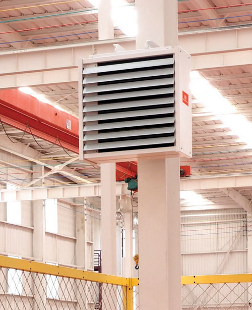 DR Series Side Blowing Electric Industry Fan Heater