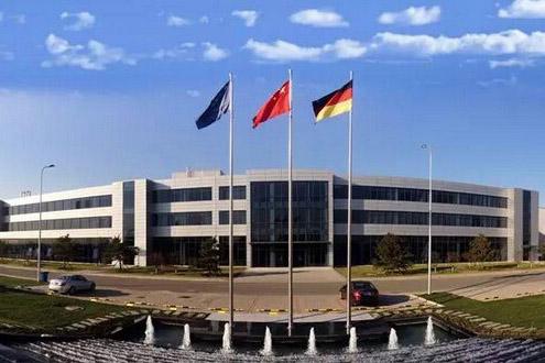 北京戴姆勒奔驰汽车发动机厂房
